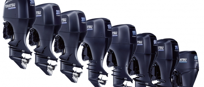 New BFT 60 - 250 HP outboards from Honda - Tohatsu corporation