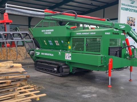 Isporuka VOLVO PENTA industrijskog motora TAD 552VE firmi TEHNIX d.o.o.